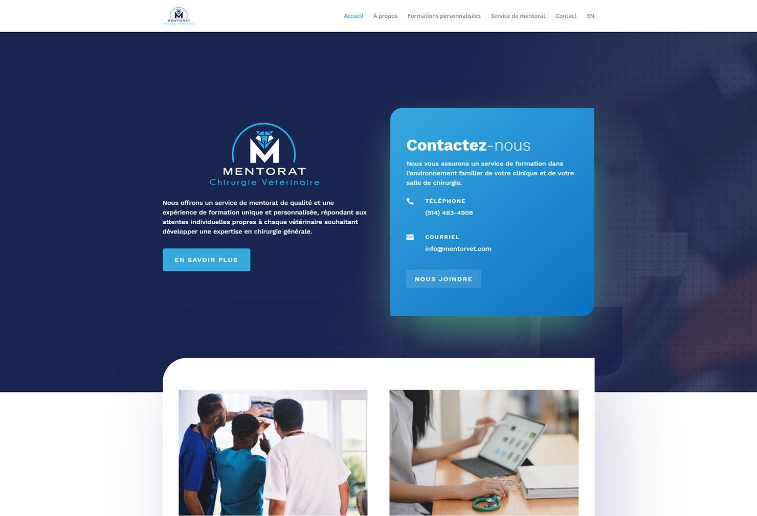 Site de Mentorat Chirurgie Vétérinaire